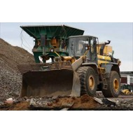 Bagger and crusher