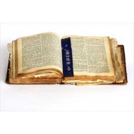 Bible and bookmark