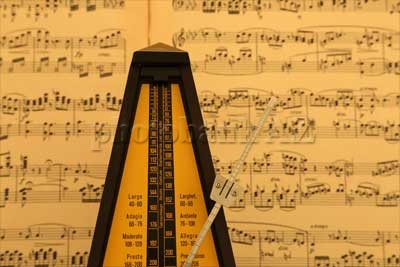 metronome and note
